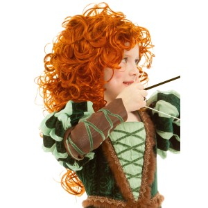 Forest Princess Wig - Red / One-Size