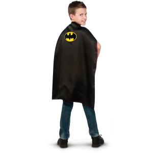 Batman to Superman Reversable Cape Child - Red/Blue / One-Size