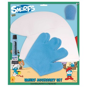 The Smurfs Accessory Kit Child - White/Blue / One-Size