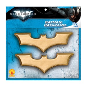 The Dark Knight Rises Batman Batarangs - Gold / One-Size