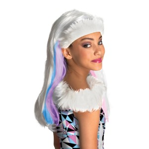 Monster High Abbey Bominable Child Wig - White / One-Size