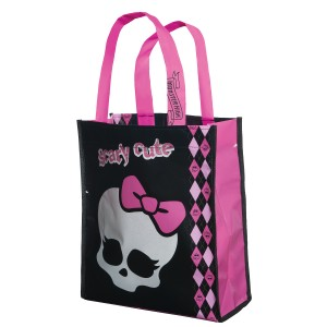 Monster High Trick or Treat Bag - Black/Hot Pink / One-Size