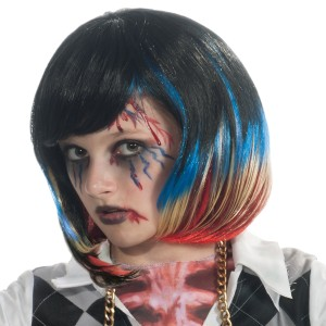 Colorful Streaks Child Wig