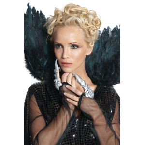Snow White and the Huntsman - Queen Ravenna Finger Cuffs - Gray / One-Size