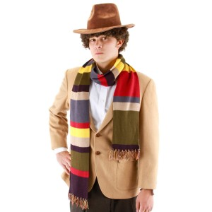 Doctor Who The Fourth Doctor Scarf Adult - Multi-colored / One-Size