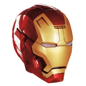 Iron Man 3 Mark 42 Adult Helmet - Red/Gold / One-Size