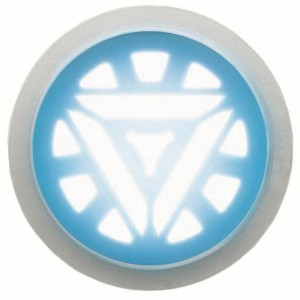Iron Man 3 Arc Reactor Glow Accessory - White / One-Size