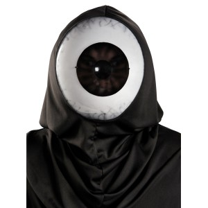 Giant Eyeball Adult Mask - Black/White / One Size