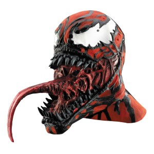 Spiderman Carnage Deluxe Adult Mask - Red/Black / One-Size