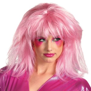 Jem And The Holograms Jem Adult Wig - Pink / One-Size