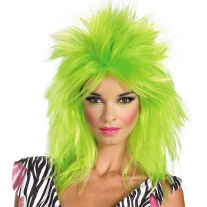 Jem And The Holograms Pizzaz Adult Wig