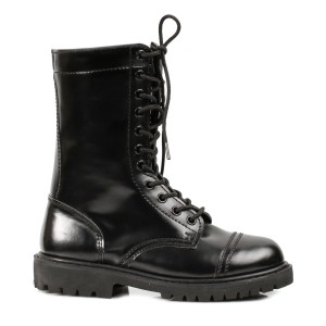 Women's Adult Combat Boots - Black / 7