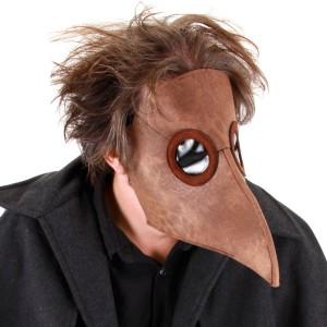 Plague Doctor Mask - Black / One-Size