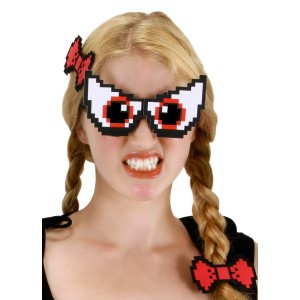 Pixel-8 Eyes Set - Multi-colored / One-Size