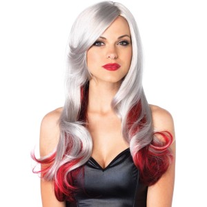 Grey and Black Two Toned Wig