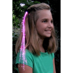 Pink Glowbys Hair Accessory - Pink