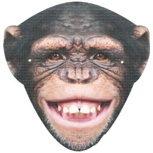 Monkey Mask - One-Size