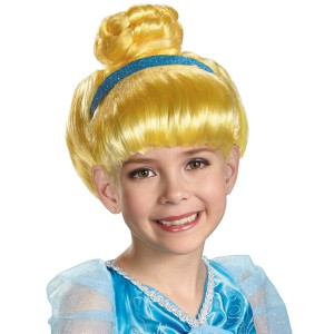 Disney Kids Cinderella Wig - One-Size