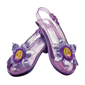 Disney Rapunzel Kids Sparkle Shoes - One-size
