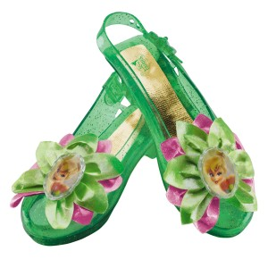 Disney Tinker Bell Kids Sparkle Shoes - One-size