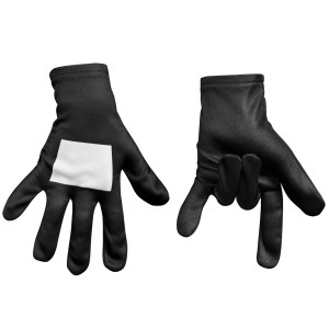 Ultimate Black Spider-Man Kids Gloves - One-size