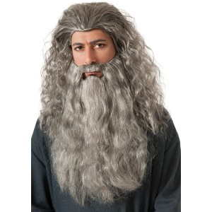 The Hobbit Gandalf Beard Kit - Light Grey