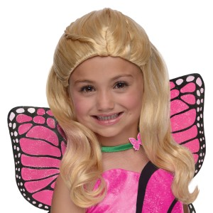 Barbie - Mariposa Kids Wig - Blonde