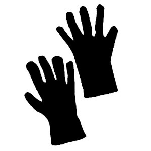 Costume Gloves - Black / One Size