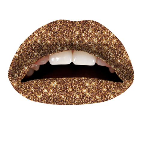 Temporary Lip Tattoos - Cinnamon Glitteratti