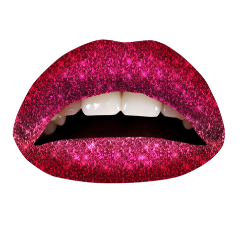 Temporary Lip Tattoos - Fruit Punch Ombre Glitteratti
