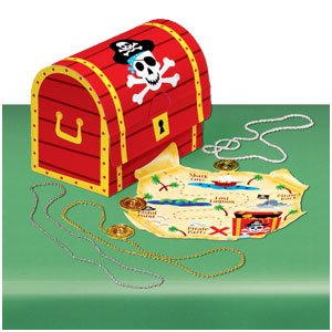 Pirate's Treasure Table Decorating Kit