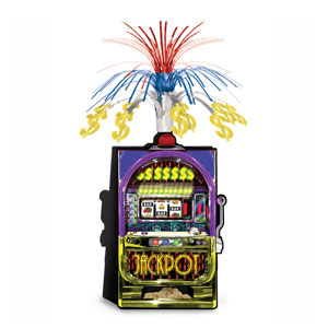 Slot Machine Centerpiece- 15in