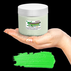 Glominex Glow Paint Pint - Invisible Day Green