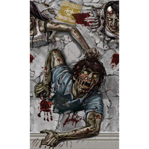 Zombie 2 Pack Room Roll - 20ft