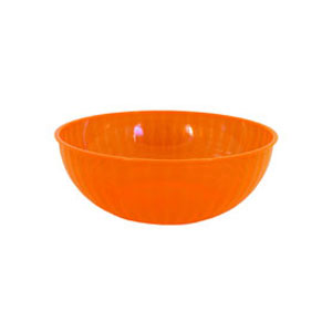 Neon 192 Ounce Plastic Party Bowl - Orange