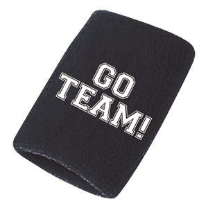 Go Team Sweatbands - Black