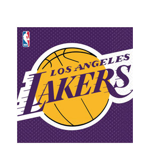 L.A. Lakers Luncheon Napkins