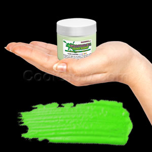 Glominex Glow Paint 2 oz Jar - Invisible Day Green