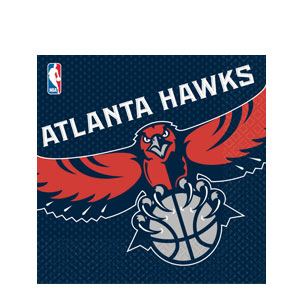 Atlanta Hawks Luncheon Napkins
