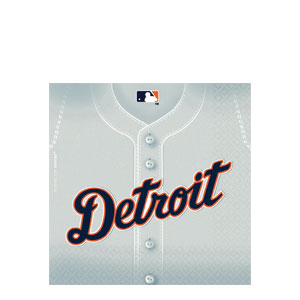 Detroit Tigers Luncheon Napkins- 36ct