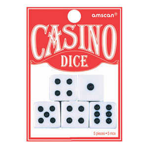 Playing Dice- 5ct