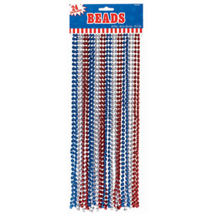 Patriotic Beads - Assorted