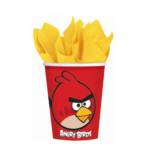 Angry Birds 9 oz. Cups- 8ct