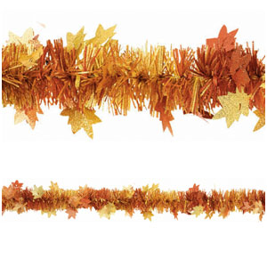 Fall Foil Garland- 15ft