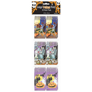 Halloween Note Pad Value Pack- 30ct