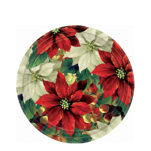 Regal Poinsettia 7 Inch Plates
