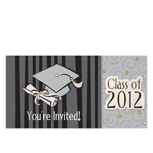 Graduation Day 2012 Tiny Twinkler Invitations- 8ct