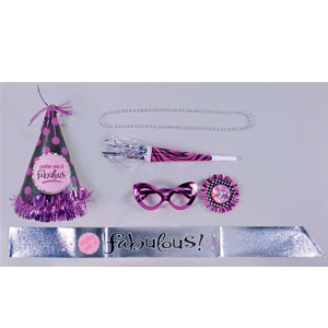Women's Birthday Party Kits- 6pc
