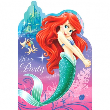 Disney Ariel Invitations