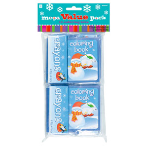 Winter Coloring Kits- 12ct